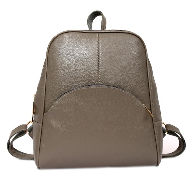 Ocardian Women Backpack Leather Backpacks Softback Bags Brand Name Bag Preppy Style Bag Casual Backpacks Teenagers Backpack X99 #2