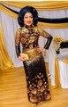 7 colores a la venta!!! últimas africano cordones vestido de fiesta 2016 moda africana tela de encaje lentejuelas JLN88