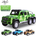 1:32 Brabus suv Metal Alloy Diecast Toy Car Model Miniature Scale Model Sound and Light Emulation Electric Car