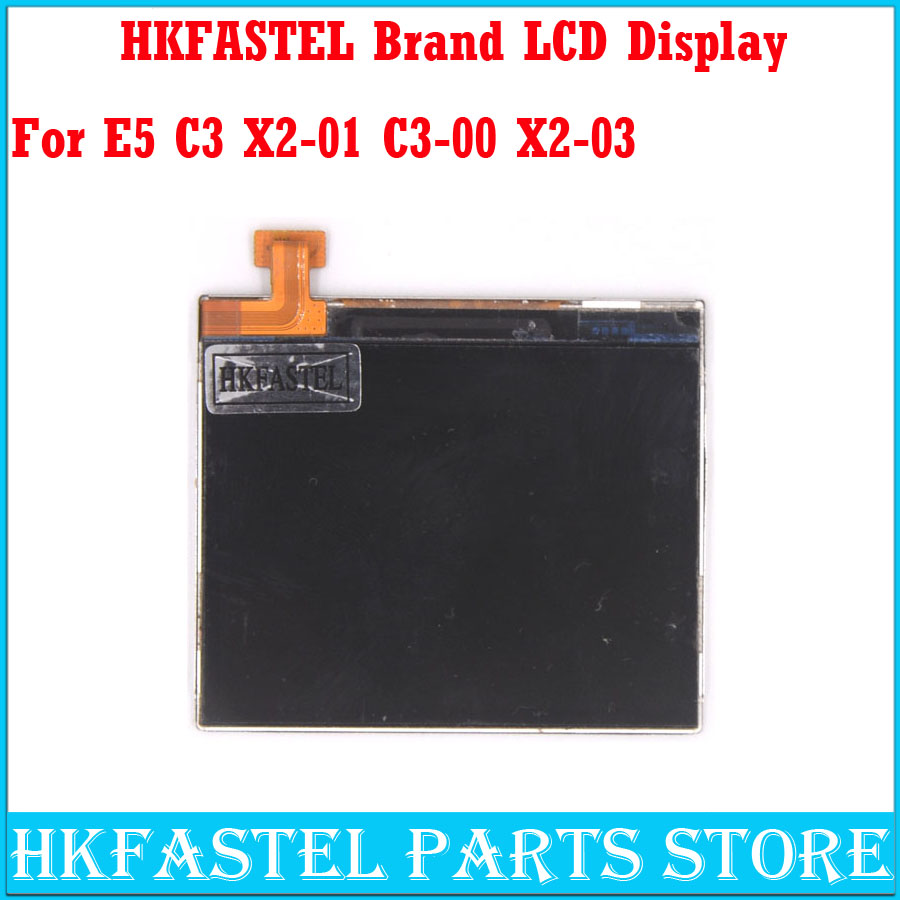 HKFASTEL Brand Cell phone LCD For Nokia E5 C3 X2-01 C3-00 X2-03 Mobile Phone LCD screen digitizer display+Tools, free shipping