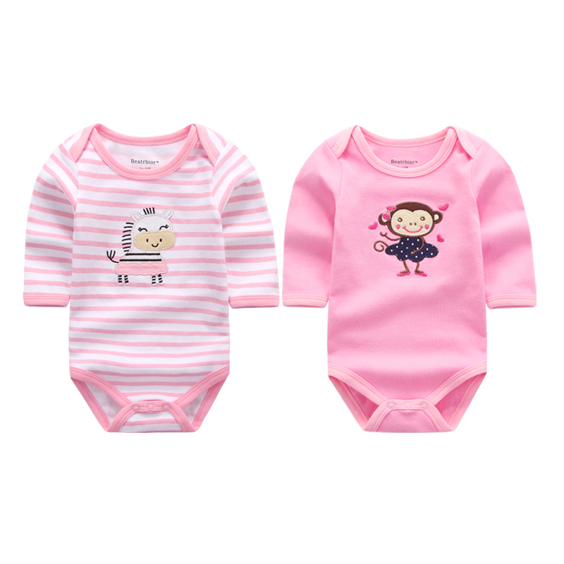 New Arrival Baby Rompers Newborn Infant 100% Cotton Long Sleeve Jumpsuits Winter Baby Boys Girl Clothes Overall Bebes Clothing