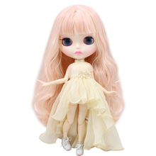 ICY Neo Blythe Doll Pale Pink Hair Jointed Body 30cm