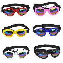 6 colors Foldable Pet Dog Anti-wind Glasses UV Sunglasses Protection Eye Collapsible Goggles Medium Large Eyewear Waterproof