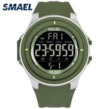 SMAEL Brand Men's Watches LED Digital Watch Men Wrist Watch 5Colors Alarm 50m Waterproof Sport Watches For Men Relogio Masculino цена и фото