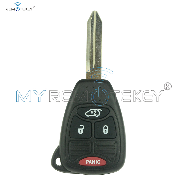 Remtekey remote head key 3 button with panic for Chrysler key 315mhz OHT692427AA car key