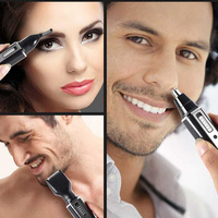 4 In 1 Nose Hair Trimmer Waterproof Stainless Steel Trimmer for Men Women NShopping