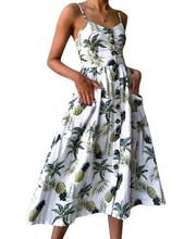 2019 New Yfashion Women Summer Fashion Elegant Charming Dress Sexy Lady Backless Casual Vestidos