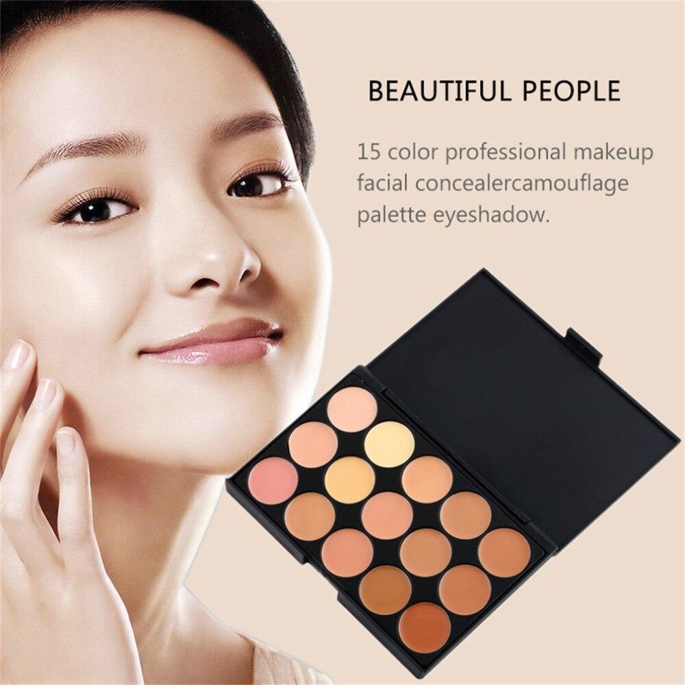 Foundation Highlighter For Face Professional 15 Concealer Camouflage Foundation Makeup Palatte