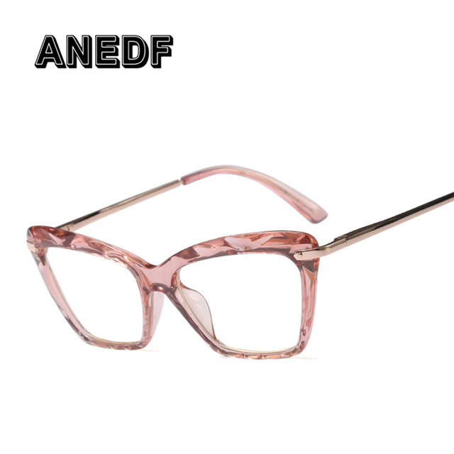 ANEDF Fashion Square Glasses Frame Women Trending Styles Brand Design Optical Computer Glasses Oculos De Sol Eyewear 2018