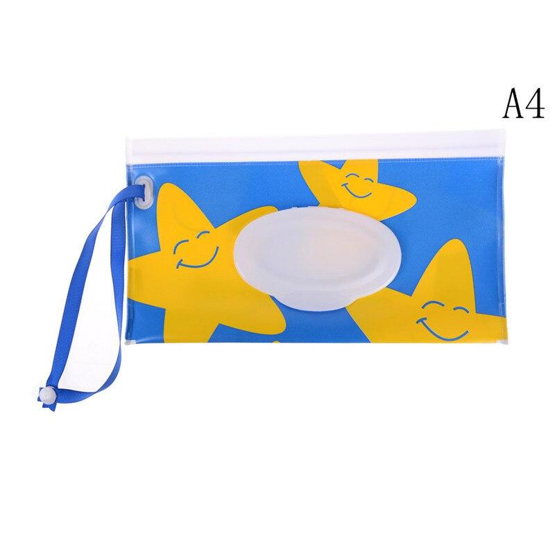 Многофункциональные детские влажные салфетки для путешествий на открытом воздухе для новорожденных, детские влажные салфетки в удобной упаковке, коробка диспенсер влажных салфеток, экологичные влажные бумажные полотенца, коробка - Цвет: 4
