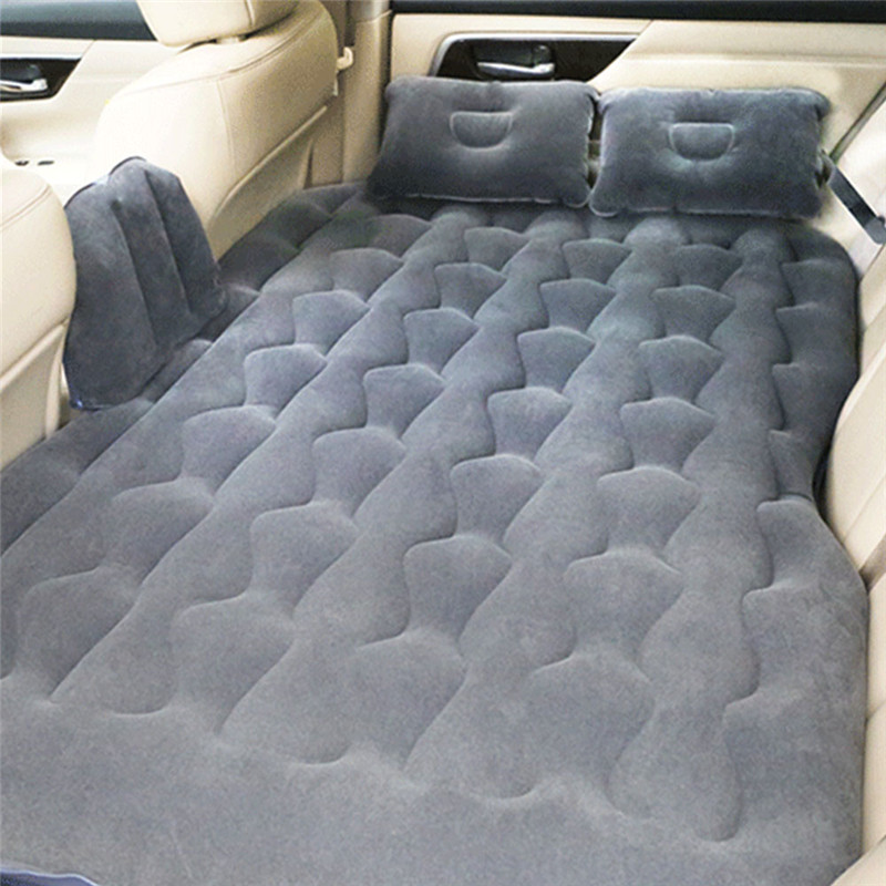 Universal Car Rear Seats Covers Bed Air Mattress Inflatable Travel Party SUV Car Back Seat Bed Cushion Mattress for SUV Car drive travel deflatable air inflation bed mattress suv camping pvc material car seat cover cushion with car electric air pump