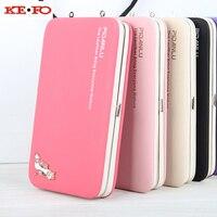 財布ケースのためのiphone 5 s se 6 s 7プラスiphone 8電話バッグケース高級女