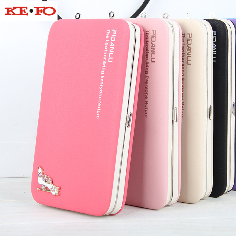 Wallet Case For Iphone 5S SE 6S 7 Plus Iphone 8 Phone Bag Case Luxury Women Wallet Purse Card Holder Universal For Ipod Touch 6