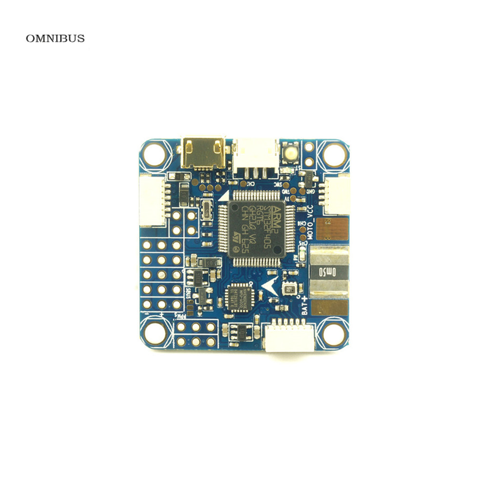 OMNIBUS F4 Pro V3 Flight Controller 5v3A BEC LC Filter for Camera and VTX Build in Current Sensor for High Integration Frame omnibus f4 pro corner v1 1 flight controller build in current sensor
