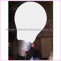 Custom Giant Advertising Inflatable Led Light Bulb Balloon Lamp Shape Balloon Replicas For Sale
