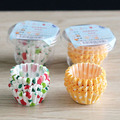 About 100Pcs/Lot Dotted Mini Paper Baking Cups Liner Muffin Cupcake Paper Cake Case