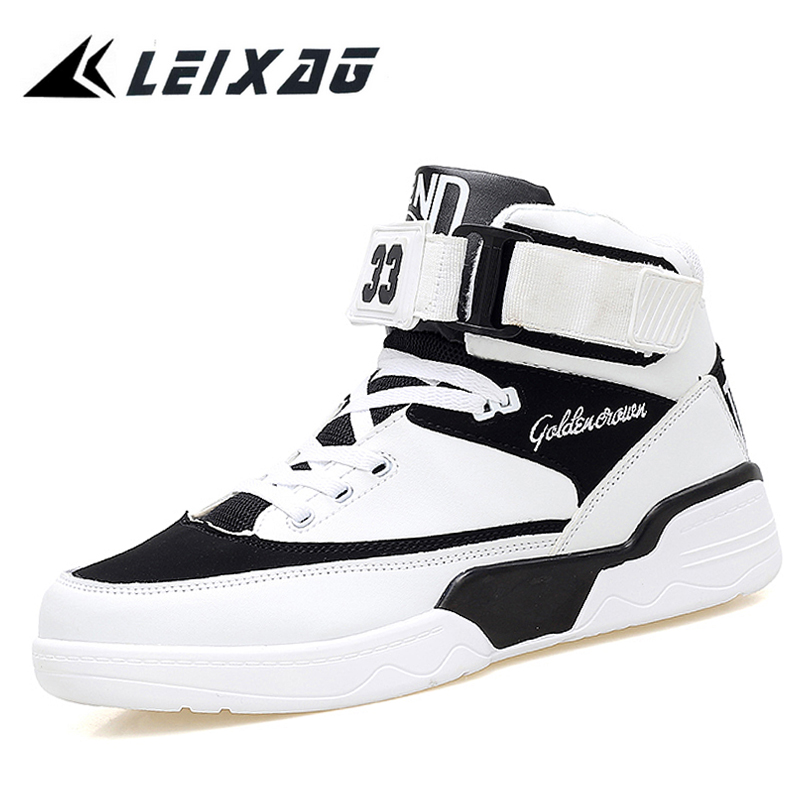 LEIXAG Mäns Basket Sneakers Högsta Andningsbara Mäns Sport Tränare Basket Femme Homme 2017 Män Utomhus Jordan Skor