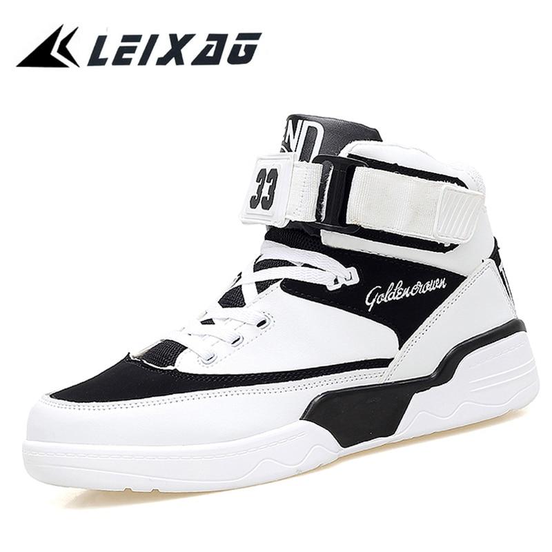 LEIXAG أحذية كرة السلة للرجال عالية أعلى تنفس ذكر الرياضة المدربين سلة فام أوم 2017 أحذية الرجال في الأردن