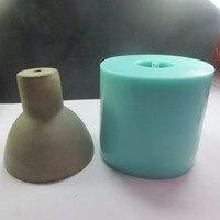 SN0014 цемента, силикона лампа конкретные формы абажур DIY формы силиконовые формы бар Спальня для украшения дома
