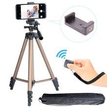 Длинный штатив для камеры, высокий штатив с креплением для телефона, Bluetooth пульт дистанционного управления, Bluetooth Штатив для телефона для iPhone, смартфона, камеры