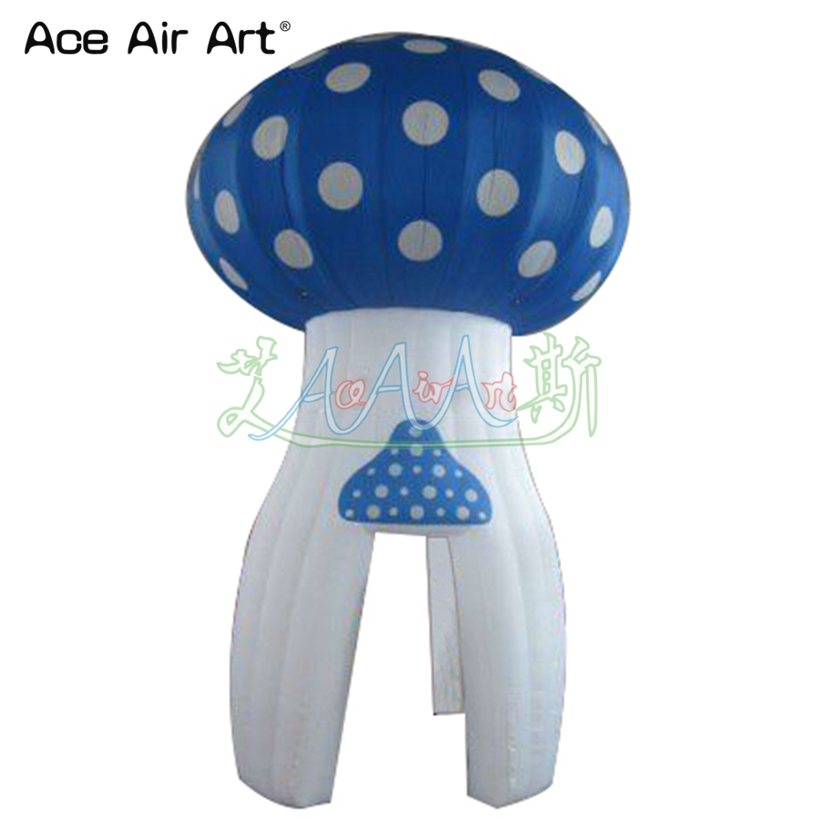 Nice inflatable mushroom shaped kiosk bar/carnival treat shop,saling bar for ice cream p ...