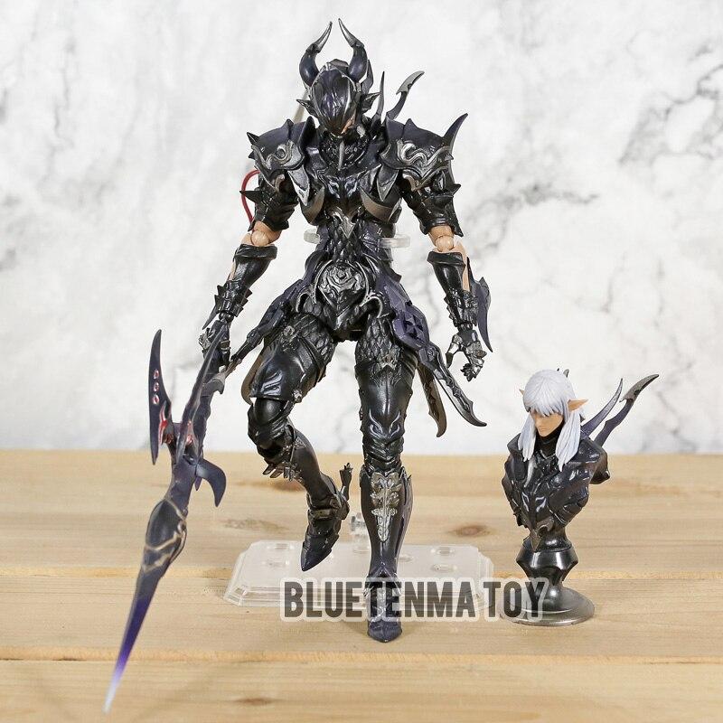 Final Fantasy VII szkwał Nyx perfum Ulric Final Fantasy 14 Estinien rysunek PA zagraj Arts Kai pcv figurka lalki w Figurki i postaci od Zabawki i hobby na  Grupa 1
