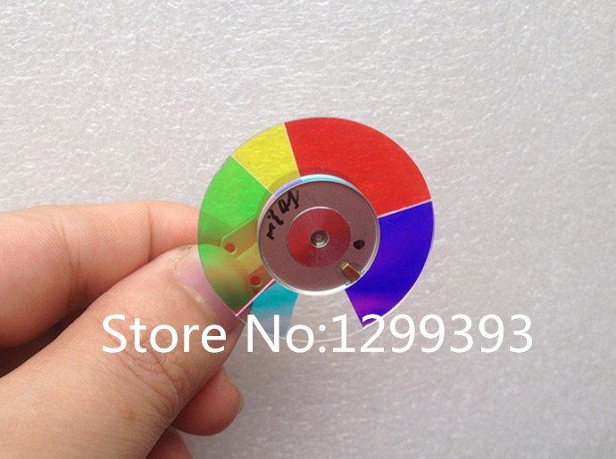 Projector color wheel for Optoma DP234  Free shipping projector color wheel for ben q w600 free shipping