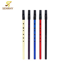 New Arrival 1Pcs D Tune Clarinet Irish Tin Brass Flute Whistle For Woonwind Musical Instruments Lover Beginner Gift Hot Sale