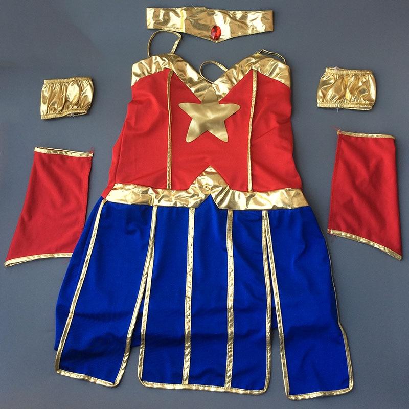VASHEJIANG Sexy Wonder Woman զգեստները - Կարնավալային հագուստները - Լուսանկար 6