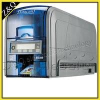 Высокое качество ID ПВХ Пластик Datacard карт принтер sd360 двусторонняя с двумя 534000 003 YMCKT ленты