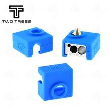 1-5 шт 3D MK8 защитный силиконовый чехол для носков чехол для 3D-принтера экструдер высокая термостойкость