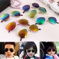 Children Sunglasses 2016 Brand-New Colorful Large Frame Kids Anti-UV Sun Glasses For Boys And Girls Hot