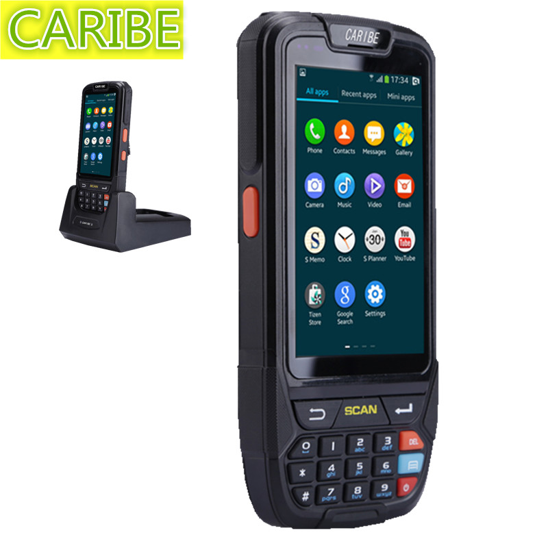 4.0 Inch Android wireless data terminal 1D, 2D barcode laser scanner pos PDA handheld computer with Bluetooth, 4G, Wi-Fi, GPS 3g gprs wifi gps quad core laser barcode scanner bluetooth 4 0 inch handheld android urovo i6200s ultra rugged big screen pda
