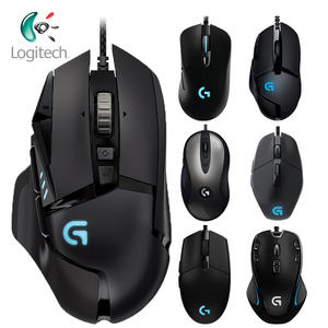 Logitech 100%Original Wired-Gaming-Mouse G102/g300s Desktop/laptop Support Windows 10/8/7