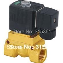 """1/"""" электромагнитный клапан высокого давления высокая температура 5404-04 PTFE DC12V, D24V, AC110V или AC220V"""