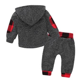 Baby Girl  Boy Hoodies Toddler  Tops Long Pants Outfits Set