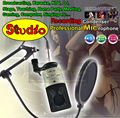 Professional Studio Recording Condenser Microphone Set For Computer Broadcasting School Home Party Karaoke Meeting Mic Microfono