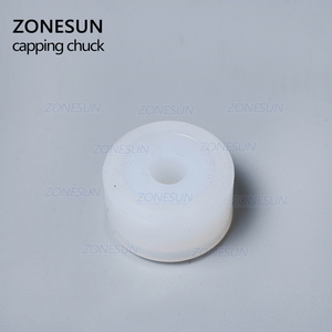 Image 4 - ZONESUN Friction Wheels Rubber Pad Capping Chuck Head For XLSGJ 6100 Medical Bottle Capping Machine Cosmetic Perfume Juice