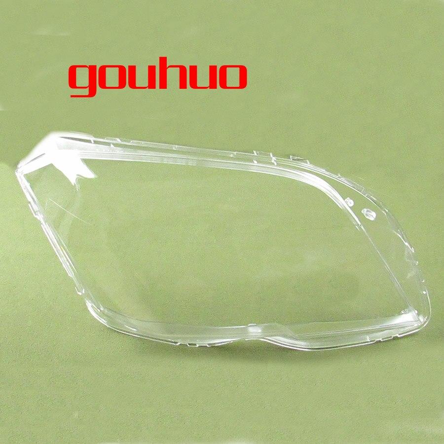 For 08 11 Benz Glk Glk300 Glk350 X204 Lampshades Headlamps Transparent Lampshade Headlight Shell 1pcs
