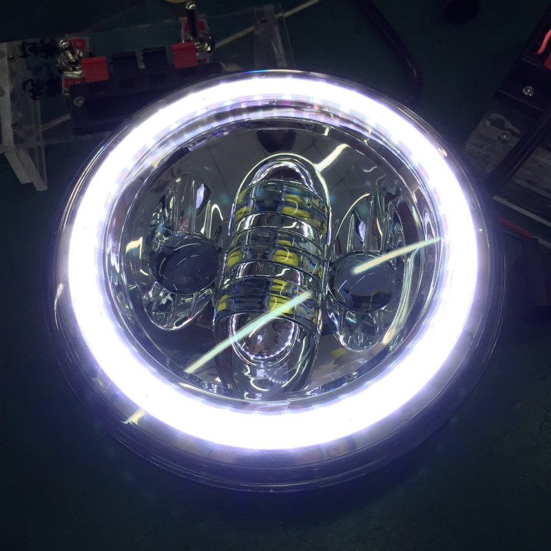 5.75 LED Headlight Driving Light for Harley Davidson Motorcycle Yamaha Daymaker Harley Accessori Moto 12V LED Lights