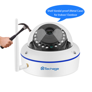 Image 3 - Techage 4CH 1080P اللاسلكية CCTV نظام الكاميرا الأمنية 2.0MP NVR قبة داخلي واي فاي كاميرا IP الأشعة تحت الحمراء ليلة P2P مجموعة مراقبة الفيديو