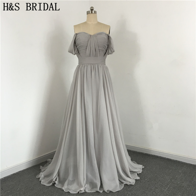 2017 A-Line Sweetheart robe de soiree Empire Prom Chiffon Wedding party   Dresses   vestido de festa elegant   Bridesmaid     Dresses