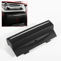 Console For BMW F30 3 series GT F34 CD Pane Storage Container Center Black 24*4.5cm Multi function Replacement