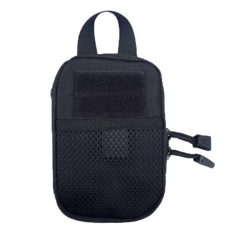 Bolso táctico EDC bolsa Molle bolsa cinturón bolsa hombres cintura bolsas caza Camping teléfono bolsa billetera llaves soporte sólido deporte Accesorios