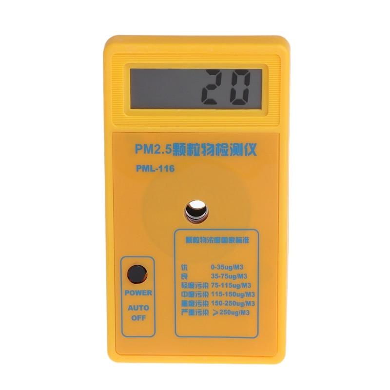 PM2.5 Particle Detector Haze Dust Air Quality Monitoring Analyzer Meter Sensor 12x7x2cm pm2 5 detector home indoor laser haze monitoring air quality monitoring instrument