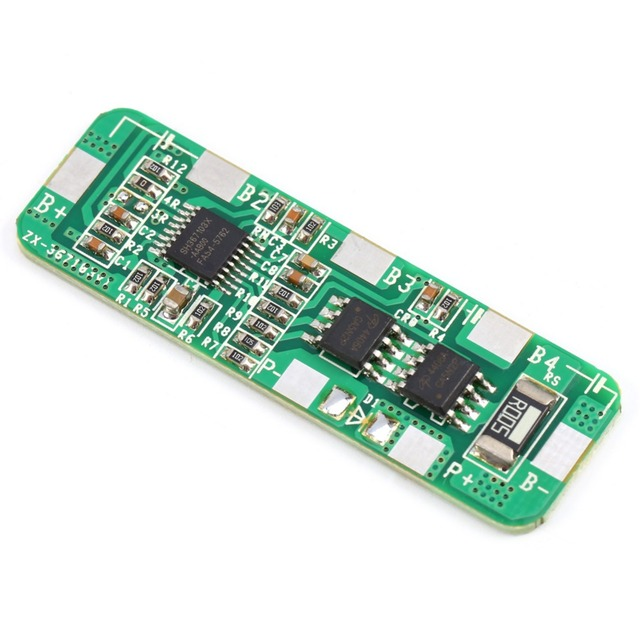 Brand New Top Quality 4A-5A PCB BMS Protection Board For 4 Packs 18650 Li-ion lithium Battery Cell