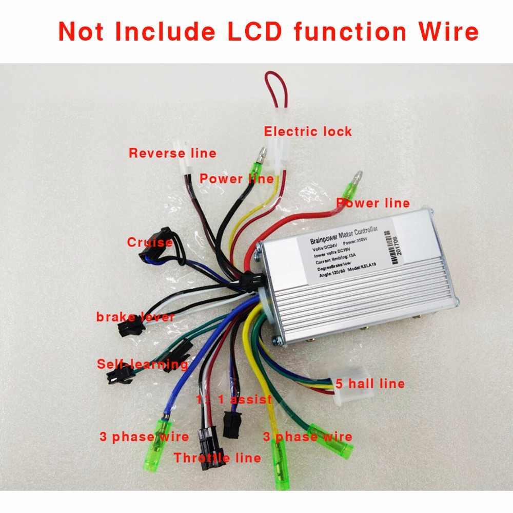 Controladores con cables diferentes 350-W-36-V-48-V-DC-6-MOFSET-sin-escobillas-controlador-controlador-BLDC-e-bike.jpg_q50