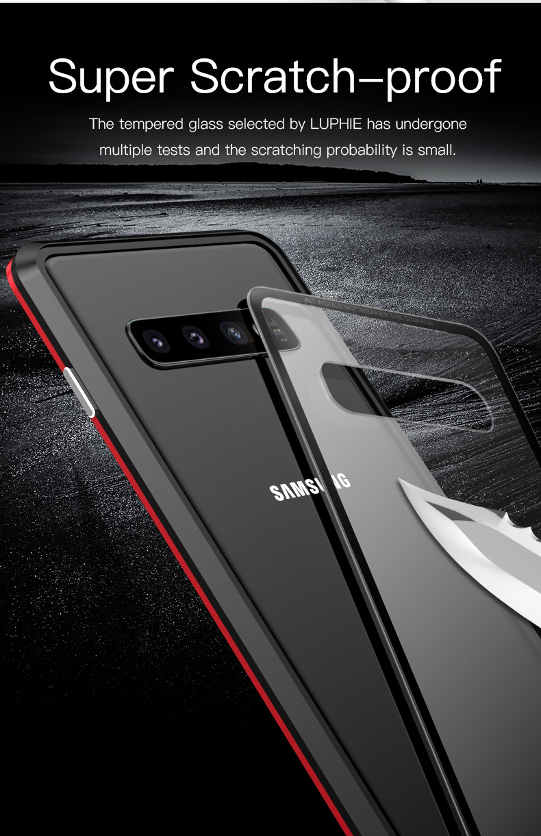 Samsung S10 Plus S10e magnet glass Case (10)