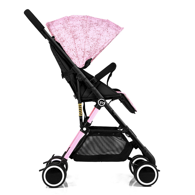 Multifunction Folding Stroller Two-way Lightweight Baby Prams For Newborns High Landscape Portable Baby Carriage Sitting Lying baby stroller high landscape trolley baby car wheelchair 2 in 1 prams for newborns baby portable bassinet folding baby carriage