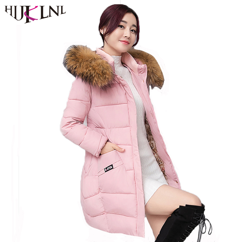 HIJKLNL Women Long Jacket Plus Size 2017 Winter Thick Coats and Jacket Female Hooded Fur Collar Padded Jacket Parka Mujer NA426 2017 new women winter long jacket female fur collar hooded parka cotton padded coats fashion thick jacket plus size outwear